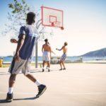 夏休み 8月岡山バスケットスクール